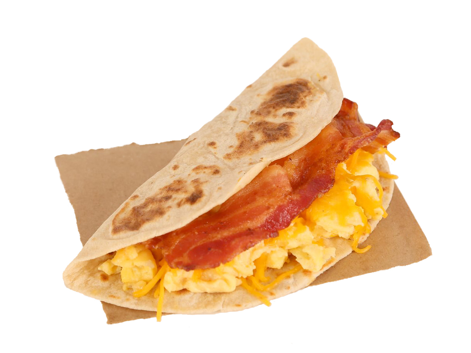 Bacon, Egg and Cheese Taco