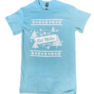 Bill Miller christmas tshirt