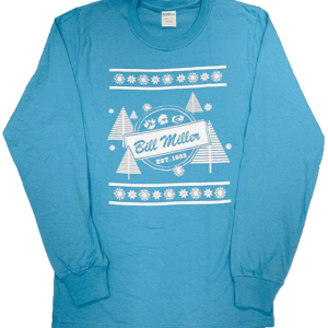 Light Blue Bill Miller Christmas Long Sleeve